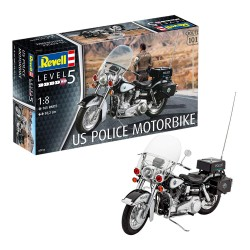 Revell US Police Motor (Scale 1: 8)-07915