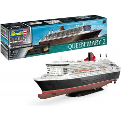 Revell Queen Mary 2 (Scale: 1:400)- 05199