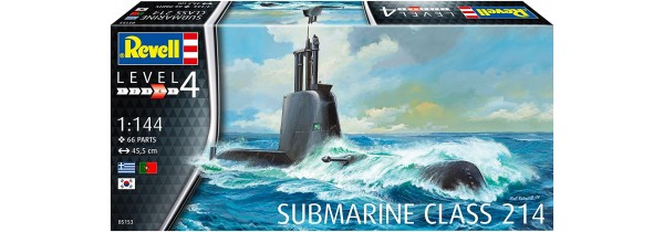 Revell Hellenic submarine class 214 (Scale: 1:144) – 05153 Models Τεχνολογια - Πληροφορική e-rainbow.gr