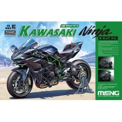MENG Kawasaki Ninja H2R (Pre-colored Edition) (scale:1:9) - MT-001s