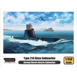 Wolfpack Type 214 Hellenic Submarine papanikolis (Scale: 1:350) - 13501