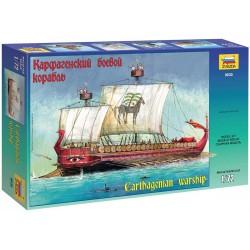 Zvezda Carthagenian Warship (Scale: 1:72) – 9030