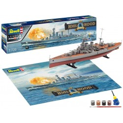 Revell HMS HOOD - 100th Anniversary Edit. (Scale: 1:720) - 05693