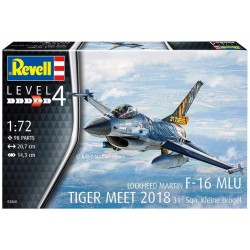 Revell F-16 Mlu TIGER MEET 2018 (Scale: 1:72) - 03860