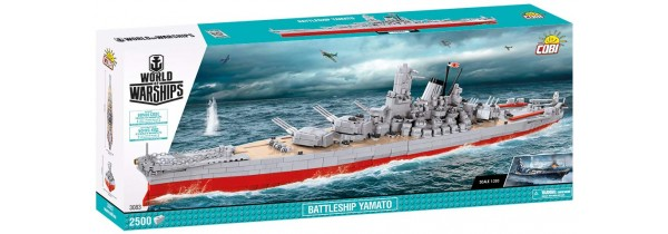 Cobi Battleship Yamato Construction Kit (COBI-3083) Sluban Τεχνολογια - Πληροφορική e-rainbow.gr