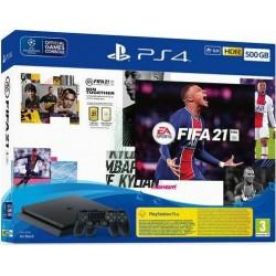 Sony PlayStation 4 Slim 500GB + FIFA 21 + 2nd DUALSHOCK 4