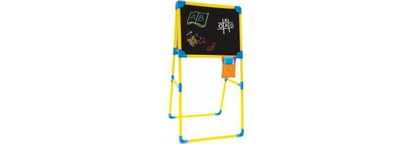 Mochtoys drawing board double-sided (11832) KIDS & BABYS Τεχνολογια - Πληροφορική e-rainbow.gr
