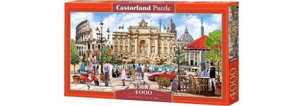Castorland Puzzle Splendor of Rome - 4000 pieces Puzzle Τεχνολογια - Πληροφορική e-rainbow.gr