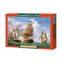 "Castorland Puzzle - Copy of""Combat""21st April 1806 - 3000 pieces"