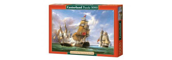 """Castorland Puzzle - Copy of""""Combat""""21st April 1806 - 3000 pieces Puzzle Τεχνολογια - Πληροφορική e-rainbow.gr"""