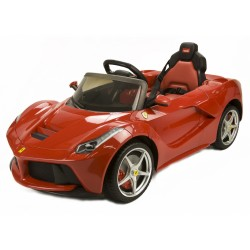RunRunToys LA Ferrari 12 V red (4004) original