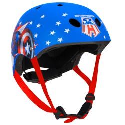 Seven Polska Captain America Safety HELMET 54-58cm (9051) Bike Accessories Τεχνολογια - Πληροφορική e-rainbow.gr