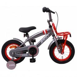 AMIGO 2Cool 12 Inch Boys bicycle - Grey