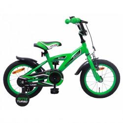 AMIGO BMX Turbo 14 Inch boys bicycle - Green