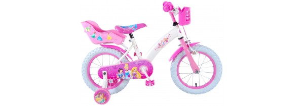Volare Disney Princess 14 inch Girls Bicycle (31406-DC) Bicycles Τεχνολογια - Πληροφορική e-rainbow.gr