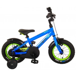 Volare Rocky 12 Inch boys bicycle blue (91244)