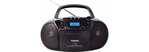 Toshiba TY-CKU39 audio CD/USB/RADIO Cassette Recorder PORTABLE RADIO/WORLD RECEIVERS Τεχνολογια - Πληροφορική e-rainbow.gr