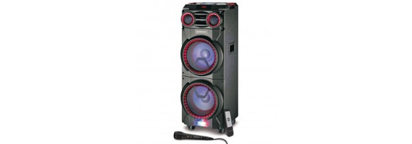Manta SPK6011 - Party DJ Troley Speaker 100W SPEAKERS / Bluetooth Τεχνολογια - Πληροφορική e-rainbow.gr