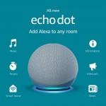 Amazon Echo Dot (4rd Gen) Smart Speaker with Alexa - Blue SPEAKERS / Bluetooth Τεχνολογια - Πληροφορική e-rainbow.gr