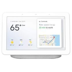 Google Nest Hub with Built-In Google Assistant - Chalk (GA00516-US)