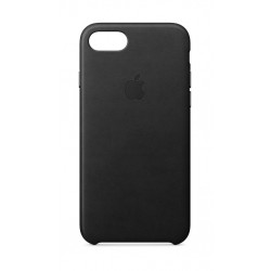 Apple Leather Case iPhone 7/8 - black (MQH92)