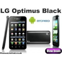 LG P970 Optimus black / white