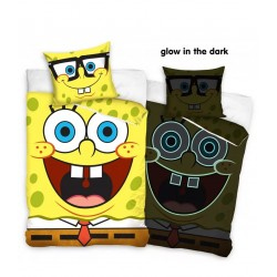 Carbotex Bed Linen SpongeBob 140 * 200 cm. + Pillow case 70 * 90 cm. (203030)