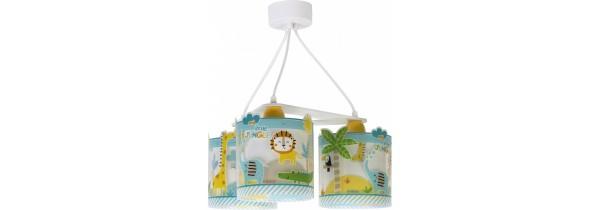 Dalber Hanging Lamp My Little Jungle (76114) KIDS ROOM Τεχνολογια - Πληροφορική e-rainbow.gr