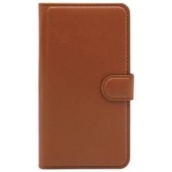 Flip Book Case Sony Xperia Z3 Compact Foldable Brown Xperia Z3 Τεχνολογια - Πληροφορική e-rainbow.gr