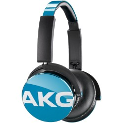 AKG Y50 Over-Ear Headphones - Blue HEADPHONE Τεχνολογια - Πληροφορική e-rainbow.gr